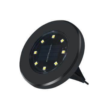 PICA BALIZA JARDIN SOLAR 8LED 2W IP65 SET 4 PIEZAS ( Seleccionar Color de Luz )
