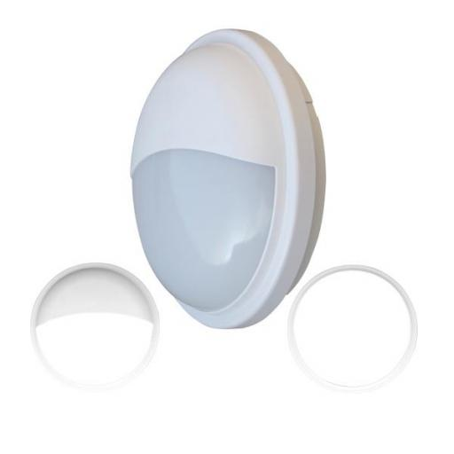 APLIQUE LED EXTERIOR CIRCULAR BLANCO 20W IP65 3200K