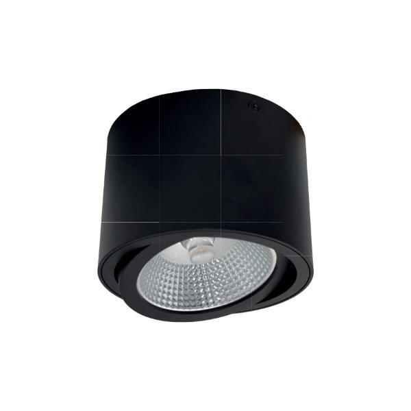 Aro BIONIQ  Circular Aluminio Superficie para QR111 (Seleccionar Color)