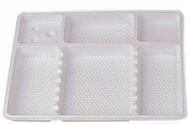 Bandejas con compartimentos 14 X 18 cm (para Micropigmentación)