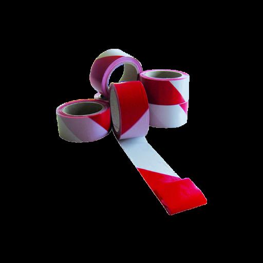 Cinta de señalización y marcado. Blanca/Roja [0]