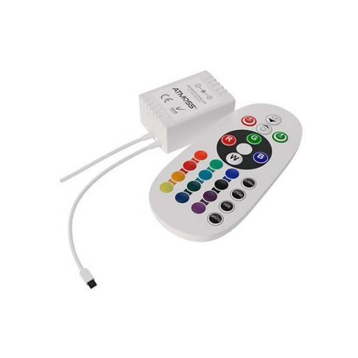 CONTROLADOR LED RGB – 24V – 144W I-R [0]