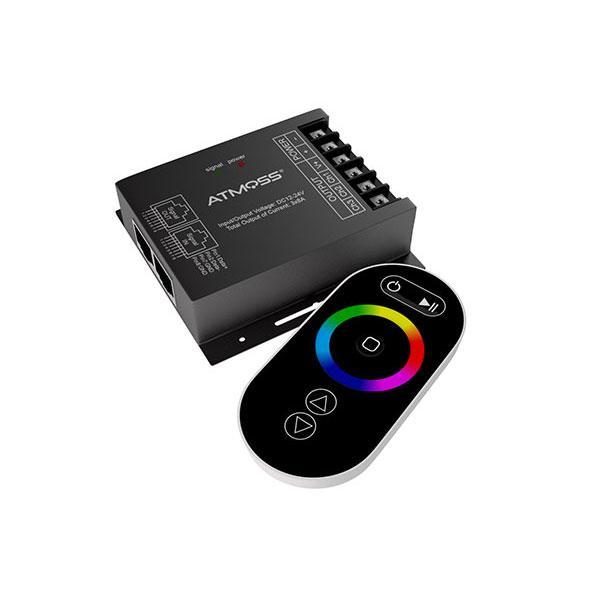 CONTROLADOR LED RGB – 24V – 576W RED MANDO TACTIL