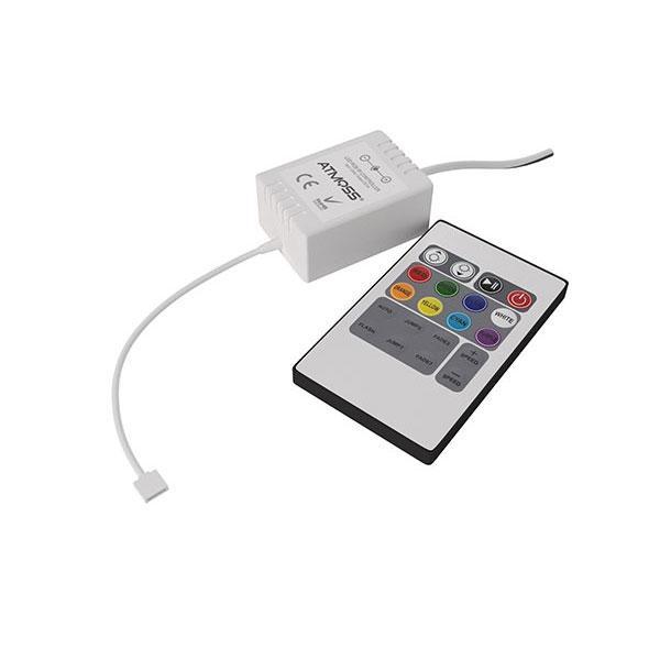 CONTROLADOR LED RGB – 24V – 144W MANDO SLIM Y WIFI