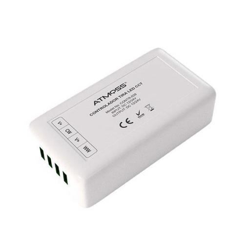 CONTROLADOR LED TIRA CCT 4 ZONAS 2,4Ghz + WIFI