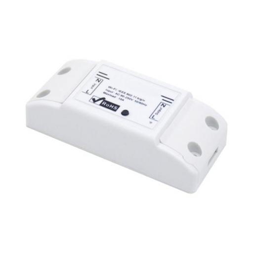 INTERRUPTOR WIFI PROGRAMABLE 10A BLANCO