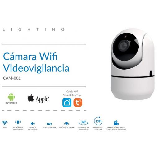 Cámara Wifi Videovigilancia [1]
