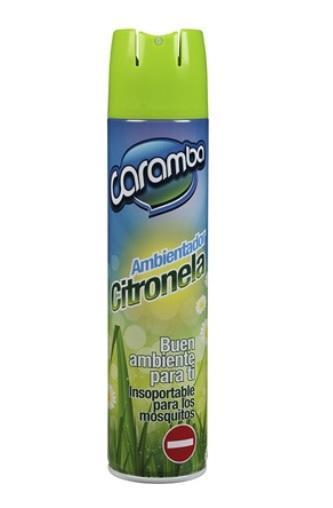 Ambientador Elimina Mosquitos con Citronela Caramba Spray 400ml