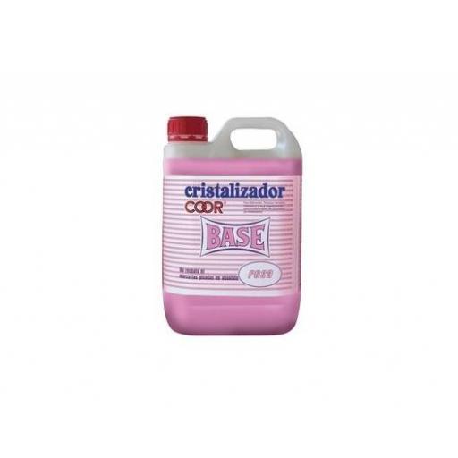 Cristalizador para abrillantar suelos Cool Rosa Garrafa de 5 L.