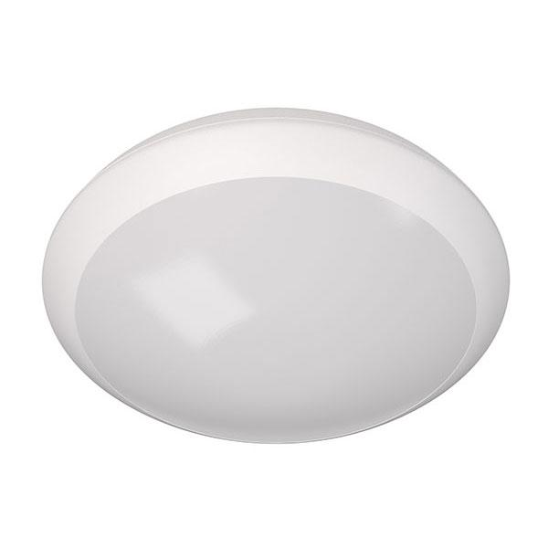 PLAFON LED SENSOR HF 2xE27 BLANCO 30cm