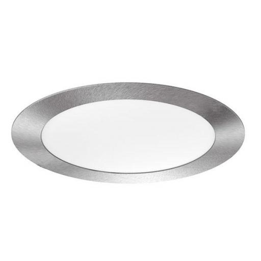 DOWNLIGHT ELYOS CIRCULAR PLANO 12W ALUMINIO BRUSHED