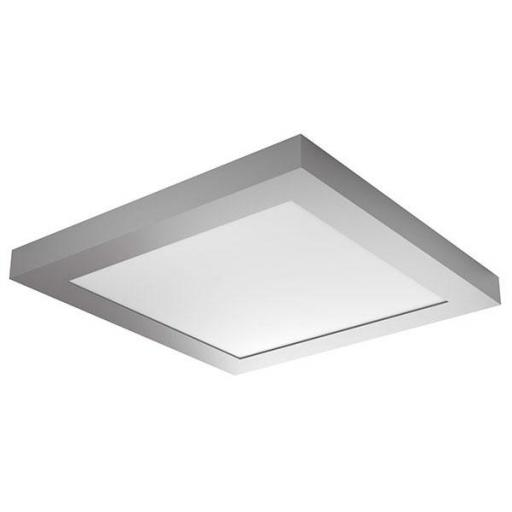 DOWNLIGHT ELYOS CUADRADO SUPERFICIE 18W CROMO MATE