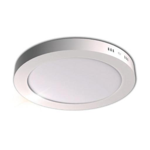DOWNLIGHT SUPERFICIE CIRCULAR 24W 5000K