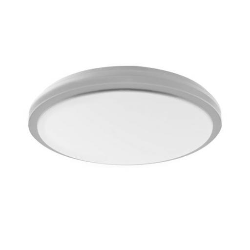 DOWNLIGHT PLAFON LED CIRCULAR SUPERFICIE 20W GRIS