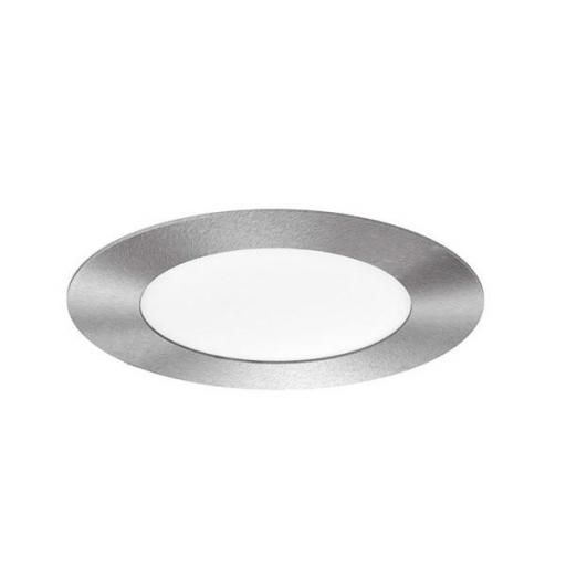 DOWNLIGHT ELYOS CIRCULAR PLANO 6W ALUMINIO BRUSHED