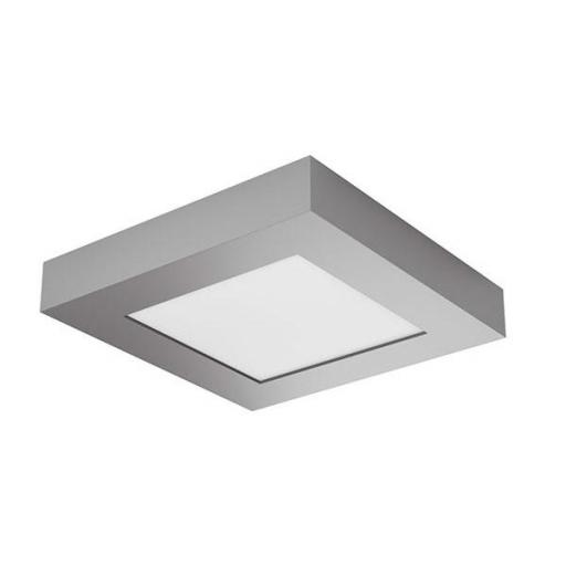 DOWNLIGHT ELYOS CUADRADO SUPERFICIE 6W CROMO MATE