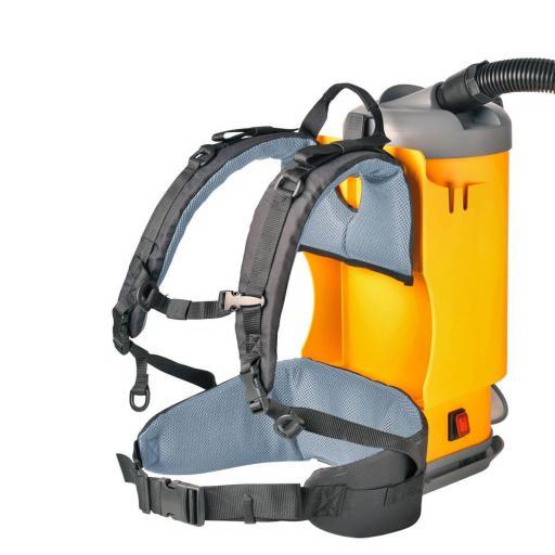 Aspirador industrial polvo de mochila 3,3 L