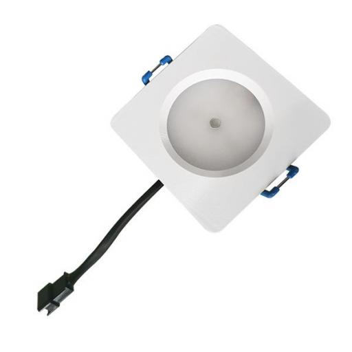 LÁMPARA DE EMERGENCIA LED AUTO-TEST CUADRADA 8W