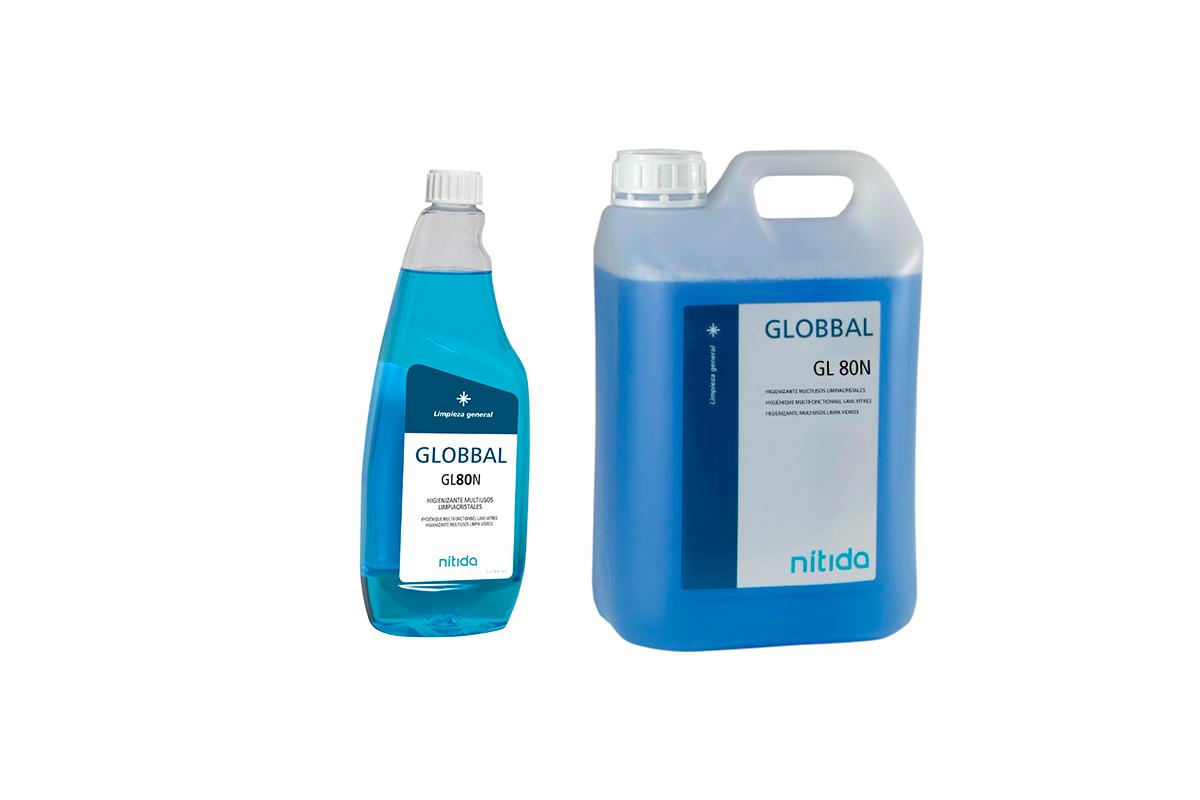 Desinfectante Superficies GLOBBAL GL 80 (COVID-19)