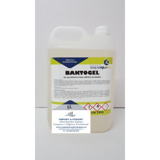 Gel Hidroalcohólico para desinfección total de manos  [1]