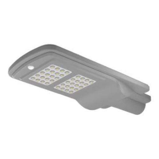 FAROLA SOLAR LED 40W IP65 ( Seleccionar Color de Luz )