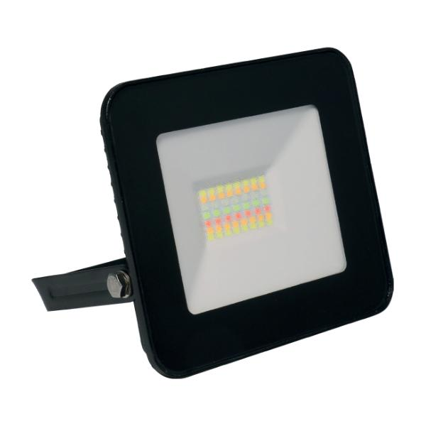PROYECTOR WIFI EXTERIOR 10W IP65 RGB + CCT CON MEMORIA (INCLUYE MANDO)