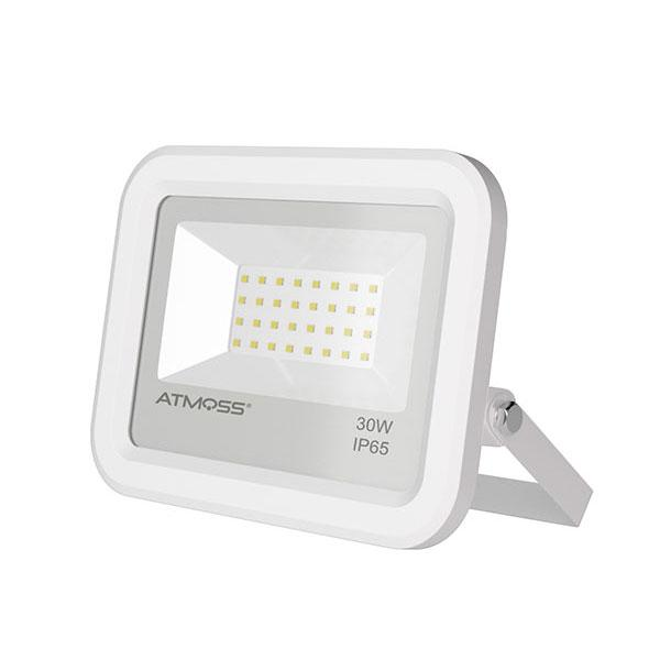 PROYECTOR EXTERIOR SMD PHILIPS 30W IP65 U. Slim Blanco (Seleccionar Luminosidad)