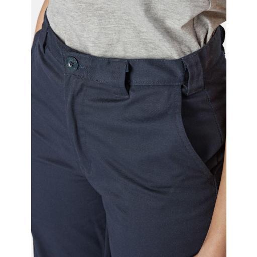 Pantalón Multibolsillos Mujer (Azul Marino) [2]