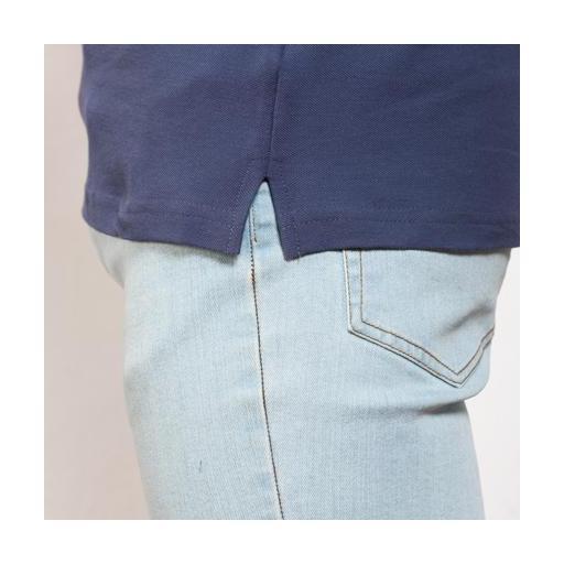 Polo Hombre - Azul Denim (seleccionar talla) [2]