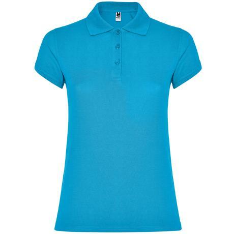 Polo de Mujer - Azul turquesa (seleccionar talla)