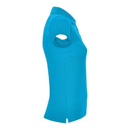 Polo de Mujer - Azul turquesa (seleccionar talla) [2]