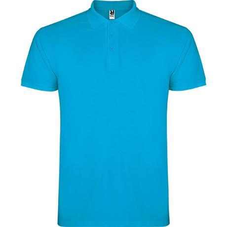 Polo Hombre - Azul turquesa (seleccionar talla)
