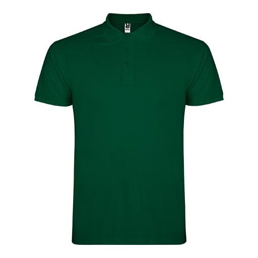 Polo Hombre - Verde botella (seleccionar talla)