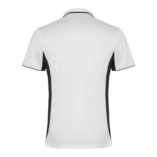 Polo Hombre Técnico (Blanco/Negro) [1]