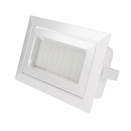 DOWNLIGHT FOCO RECTANGULAR 50W BLANCO CHIP-OSRAM