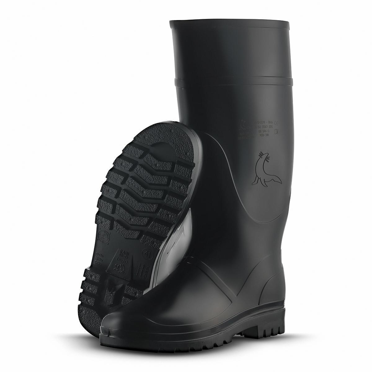 106_Botas Rain Negro