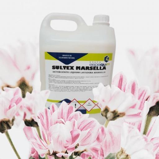 Detergente líquido lavadora Marsella