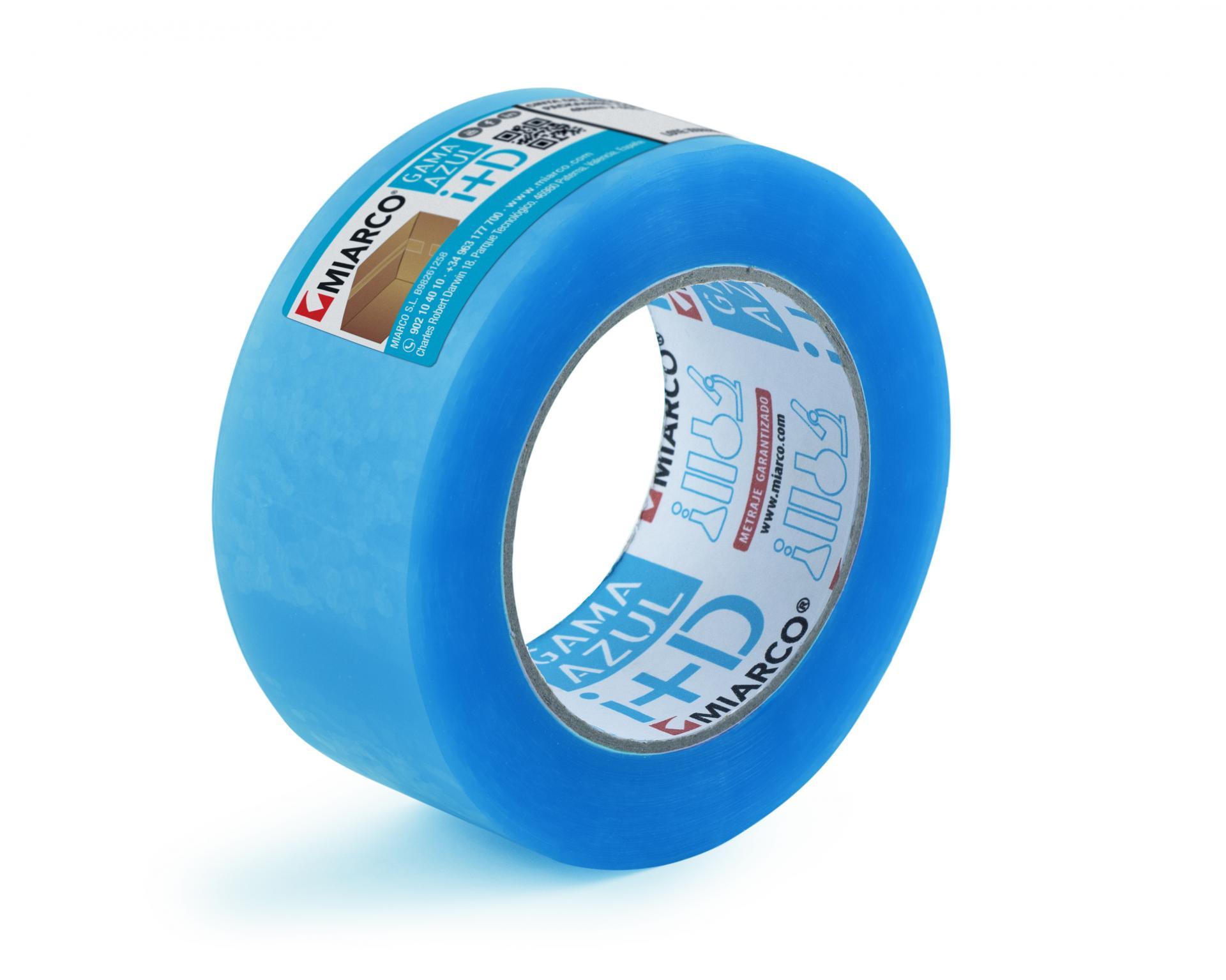 Cinta adhesiva Gama Azul
