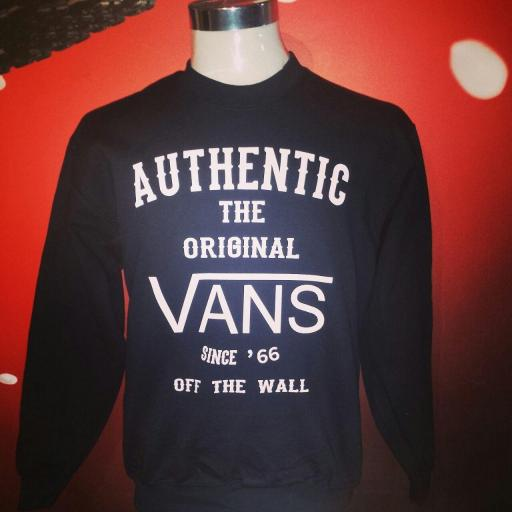 SUDADERA AUTHENTIC VANS