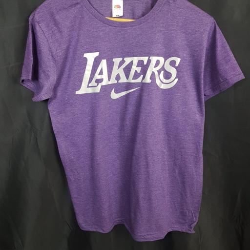 CAMISETA REFLECTANTE LAKERS