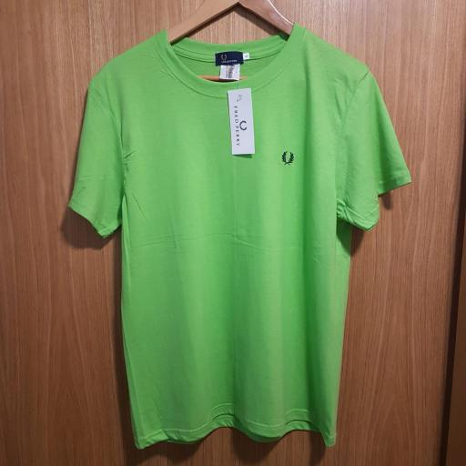 CAMISETA FRED PERRY VERDE