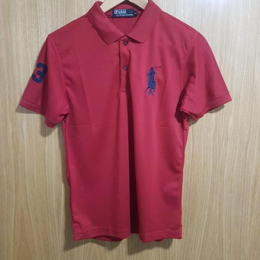 POLO GRANATE RALPH LAUREN