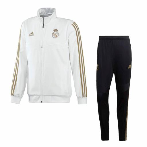 CHANDAL REAL MADRID BLANCO