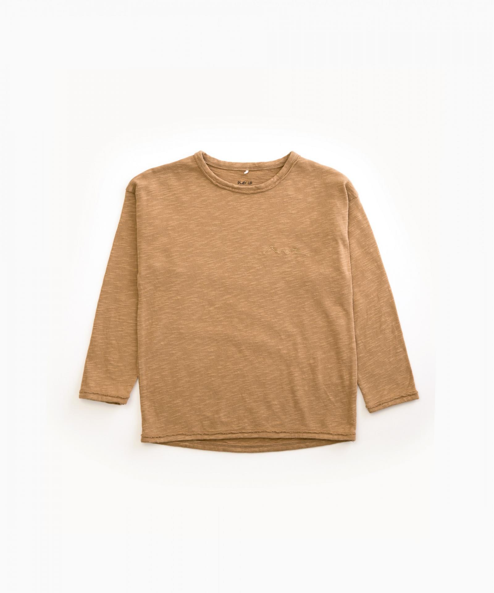 Camiseta de algodón orgánico con bellotas PLAY UP