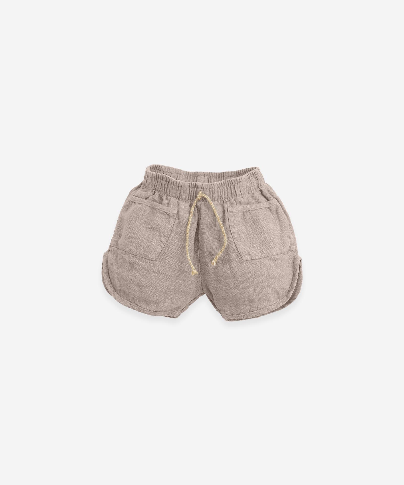 Pantalón corto con cordón de yute Play Up