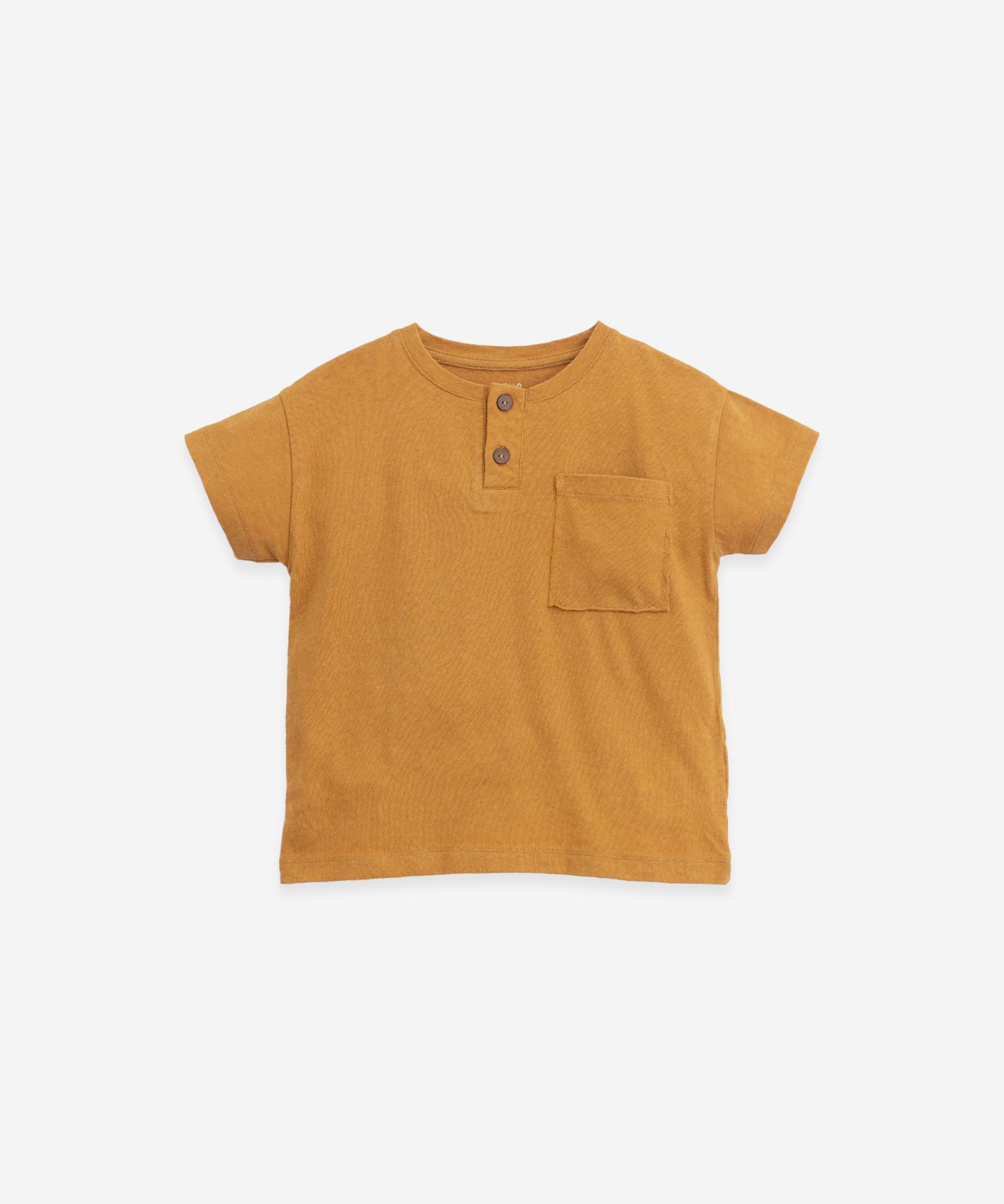 Camiseta Lino y Algodon Play Up