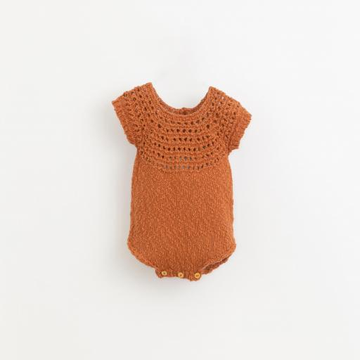 Mono tricot con botones de madera Play Up