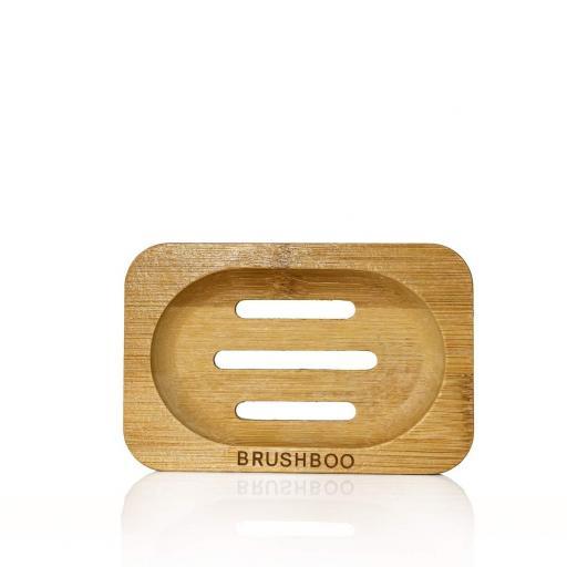 JABONERA BAMBU BRUSHBOO