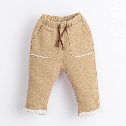 Pantalón con cordón decorativo PLAY UP