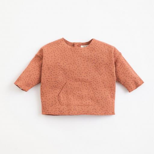 Jersey con patrón de algodón orgánico PLAY UP